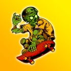 Zombie Skateboarder High School - Life On The Run Surviving The Fire! icon