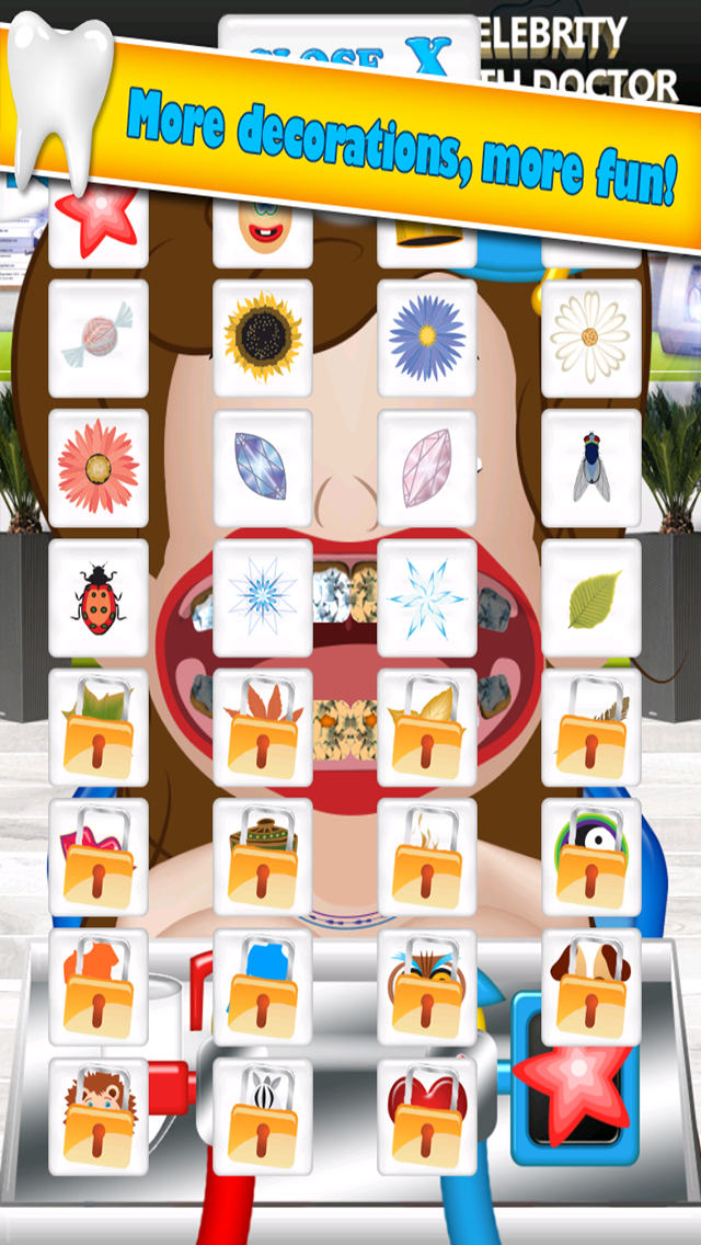 A Little Princess Celebrity Dentist - My Crazy Hospital Office For Girls Salon 2 Pro screenshot four