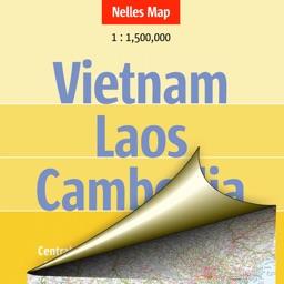 Vietnam, Laos, Cambodia