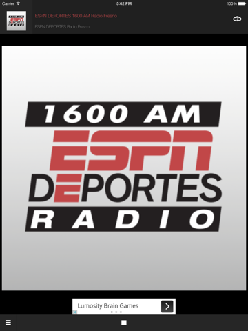 ESPN DEPORTES Sports Radio 1600 AM Fresno-ipad-0