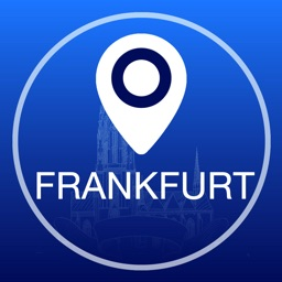 Frankfurt Offline Map + City Guide Navigator, Attractions and Transports