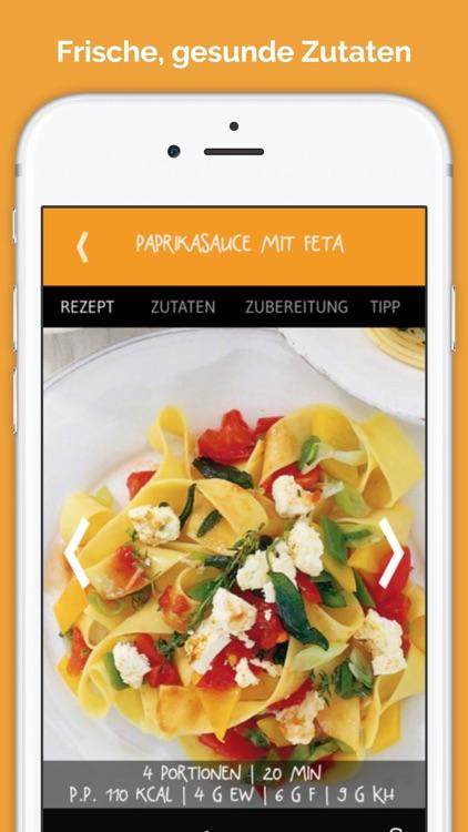 Pasta - 1 Nudel, 60 Saucen - die besten Rezepte screenshot-3