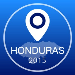 Honduras Offline Map + City Guide Navigator, Attractions and Transports