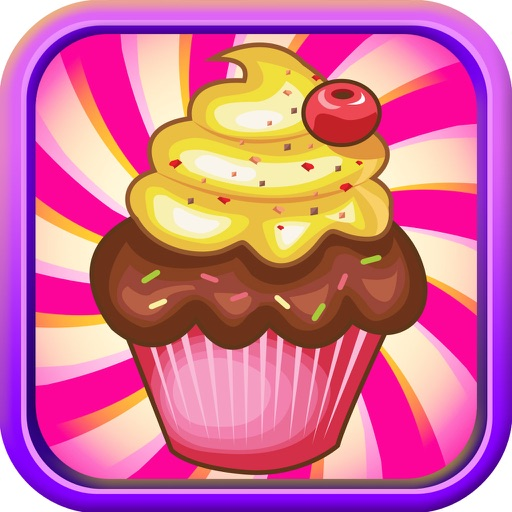 Cupcake Dessert Pastry Bakery Maker Dash - candy food cooking game!