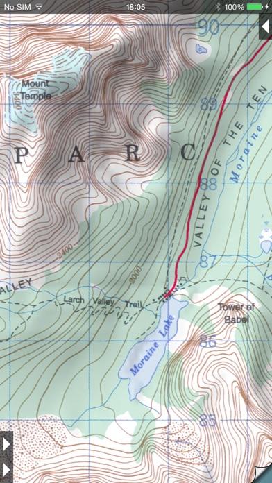 Topo Maps app image