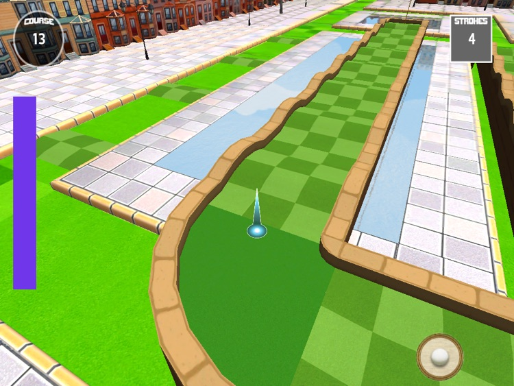 Micro City Golf - for the iPad screenshot-3
