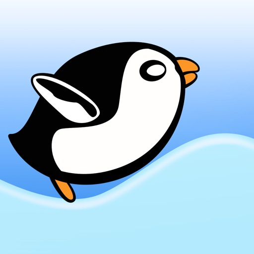 Crazy Penguin Avalanche Racer - amazing downhill racing game