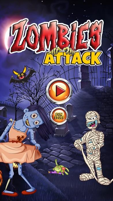 Zombies Attack – Crazy escape & run game screenshot one