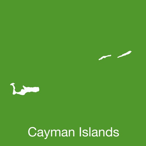 Cayman Islands GPS Map