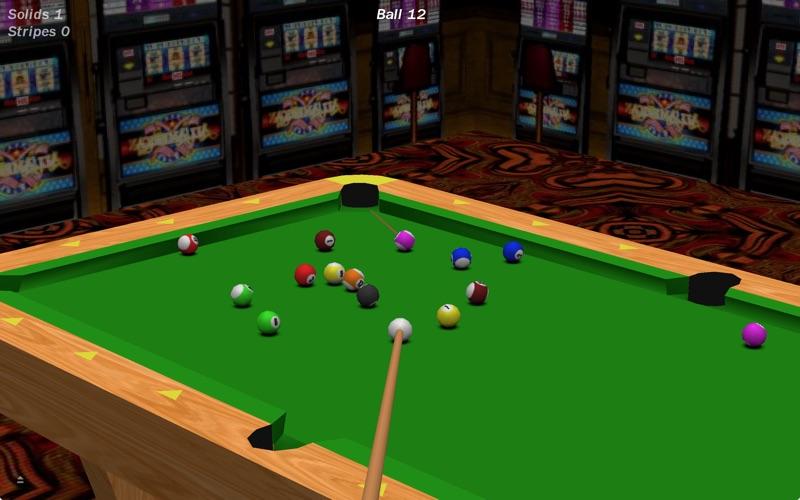 Vegas Pool Sharks Lite Screenshot