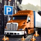 Un gran aparcamiento de camiones Simulador Frenesí icon