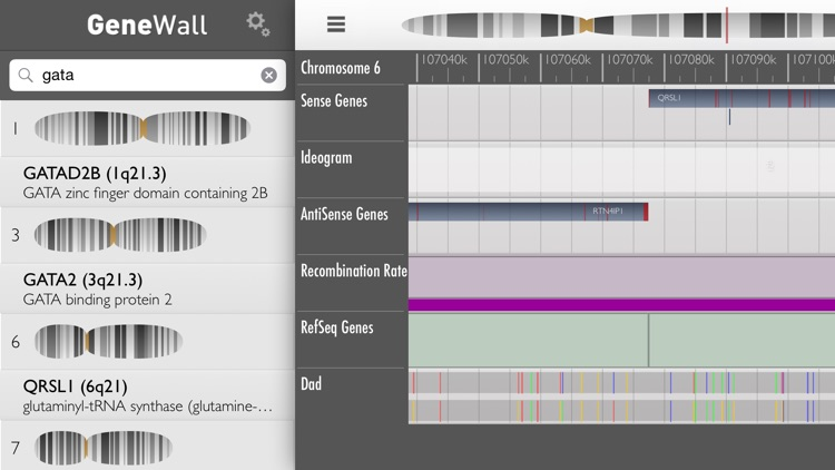 GeneWall Genome Browser