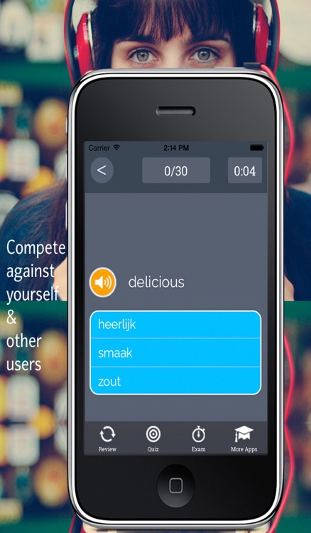 Learn Dutch Vocabulary: Memorize words - Gratis screenshot-4