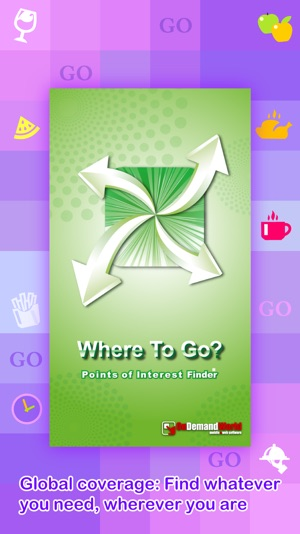 Where To Go? PRO - Find Points of Interest using GPS. Screenshot