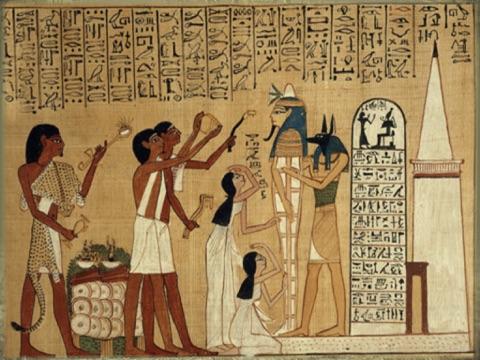 Египетскии Сенет (игра Древнего Египета) Анубис приглашает вас играть за фараон Тутанхамон (король Тут) или царицу Нефертити в могила для iPad