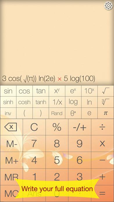 Advanced Calculator - Pretty, Simple & Functional screenshot one