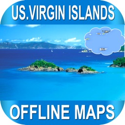 US Virgin Islands Offlinemaps with RouteFinder