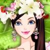本当の王女と変身を愛し、メイクアップ子供のためのファッションの女の子のゲーム - 小さな春の女の子をドレスアップ - iPhoneアプリ