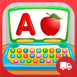 My First ABC Laptop - Learning Alphabet Letters Game for Toddlers and Preschool Kids