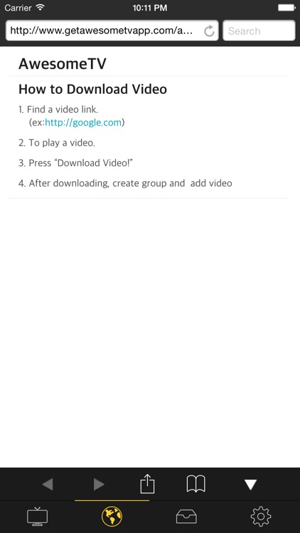 AwesomeTV Pro Video Downloader screenshot-3