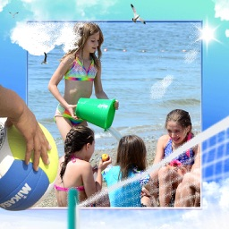 Summer Photo Frames Deluxe