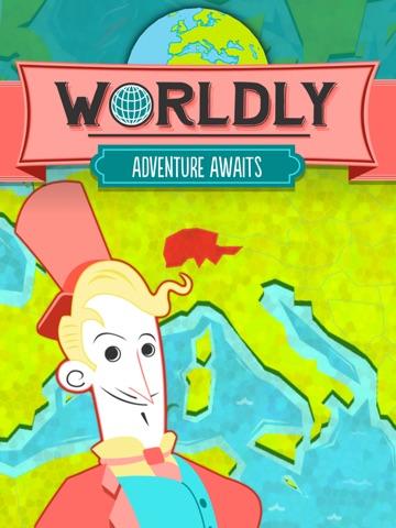 Worldly - Countries Quiz! на iPad