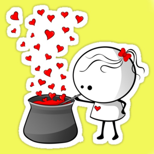 love stickers flirty emoji free for whatsapp viber by dodita corina