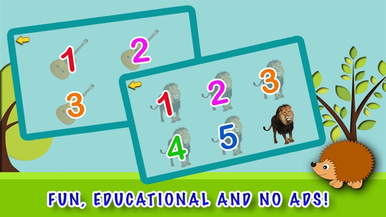 Counting is Fun ! -  Free Math Game To Learn Numbers And How To Count For Kids in Preschool and Kindergarten