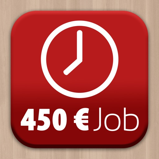 450 Euro Job - Zeiterfassung mit Stundenzettel zum Verschicken an Arbeitgeber