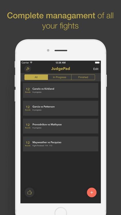 JudgePad (Boxing scorecard) screenshot-4