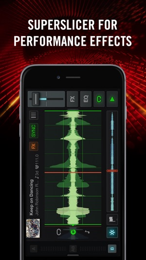 Traktor DJ für iPhone Screenshot