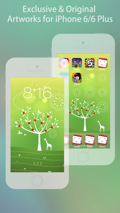 Cool Themes HD for iPhone 6 & 6 Plus screenshot two