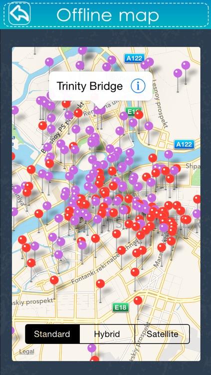 Saint Petersburg Travel Guide - Offline Guide screenshot-3