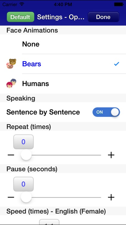 SpeakSafari - Speak Extension for Safari screenshot-3