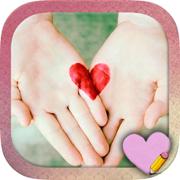 设计和创造爱卡 - 信和爱情语录