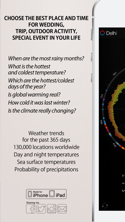 Weather 365 Pro - Long range weather forecast and sea surface temperature screenshot-3