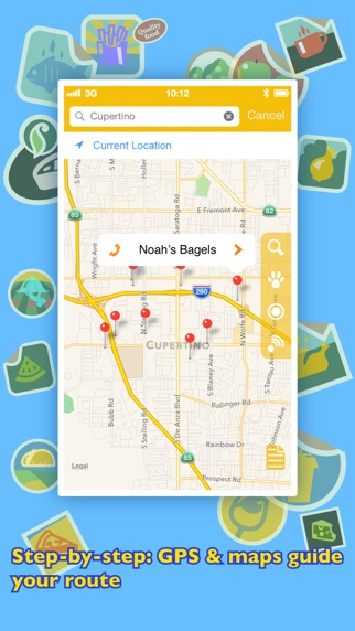 Screenshot for Où manger ? PRO - Trouver des restaurants avec le GPS. in France App Store