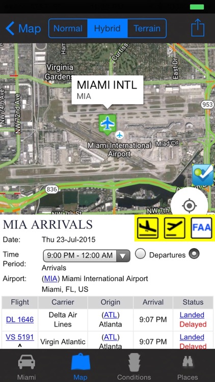 Miami Traffic Cameras Travel NOAA All-In-1 Pro screenshot-2