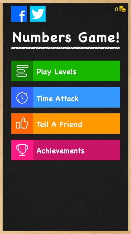 Numbers Game! - 6 Number Math Puzzle Game and Brain Training