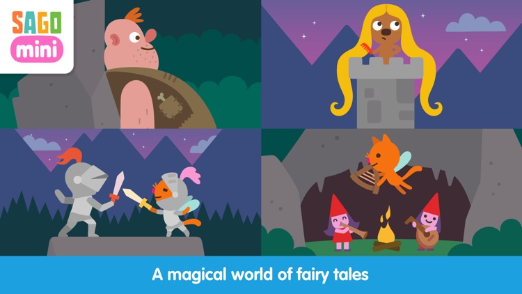 Sago Mini Fairy Tales screenshot-2