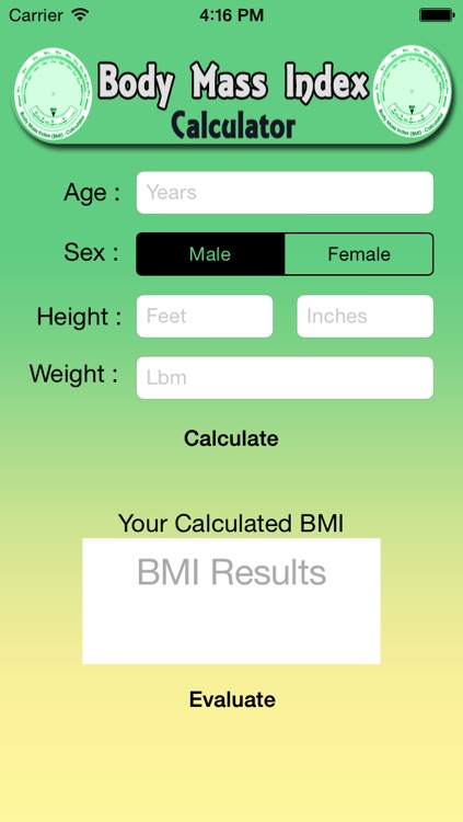 BMI-Body Mass Index Calculator for Men and Women