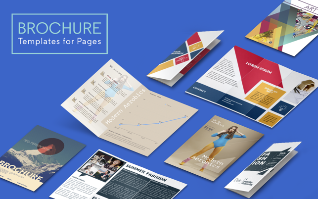 brochure templates by ca on the mac app store