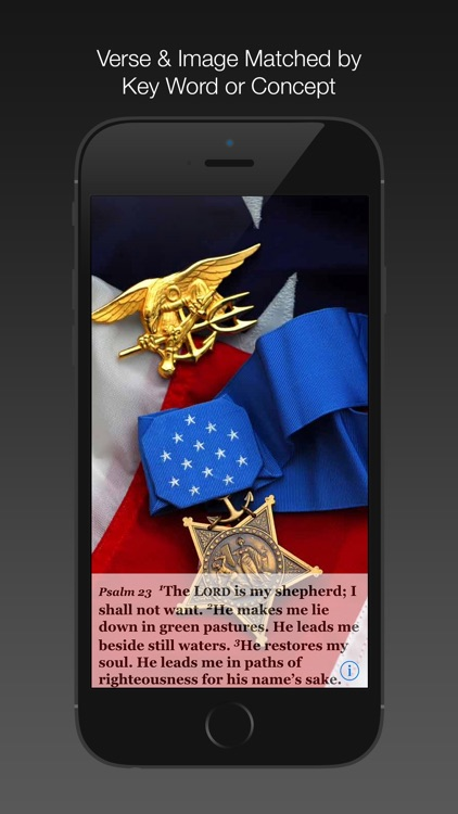 Navy Psalm Daily Quotes ESV screenshot-2