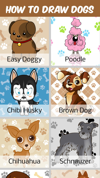 How To Draw Dogs And Puppys App Price Drops