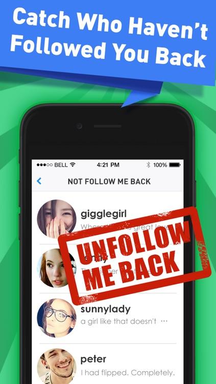 Followers Powers for Instagram - free follow and unfollow tracker app screenshot-3