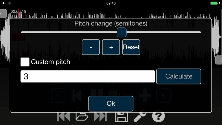 Audio Speed Changer Pro screenshot-0