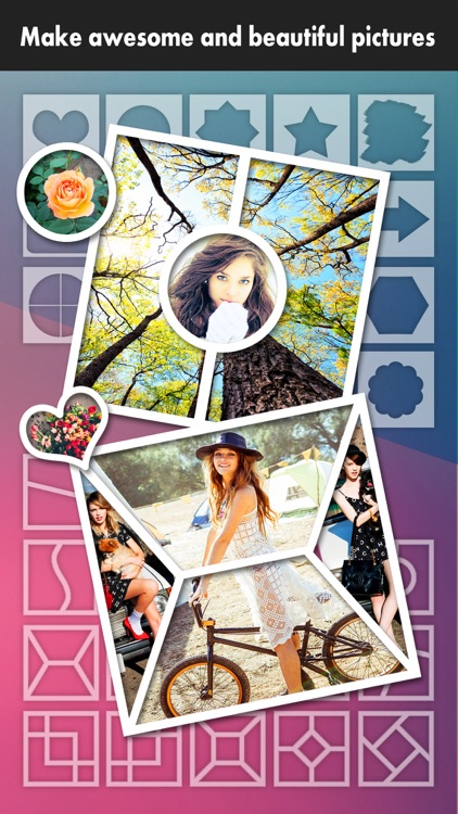 Frame Moment Pro - Grid Editor to collage & crop your photos on instagram screenshot-1