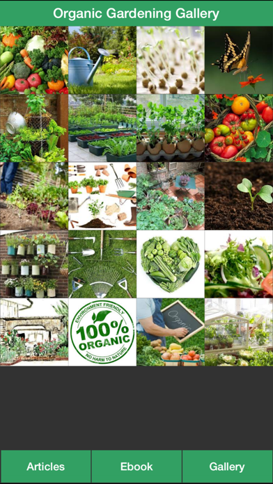 Organic Gardening Guide - A Guide To Growing Your Own Organic Vegetables screenshot two