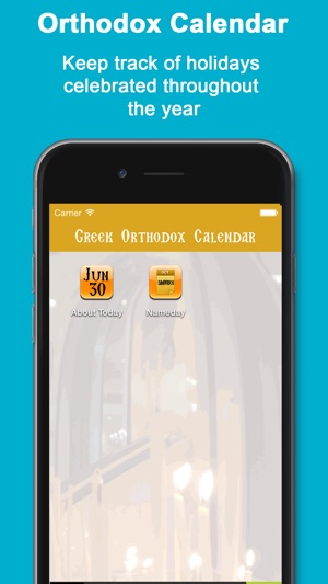 Greek Orthodox Calendar.Greek Orthodox Calendar Lite On The App Store