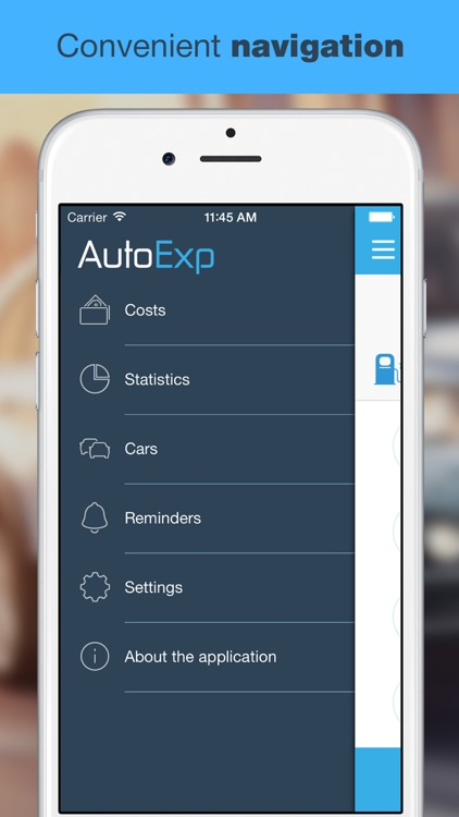 AutoExp: Car Expenses, Statistics, Reminders screenshot-4